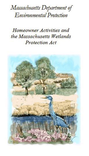Homeowner Activities and the Wetlands Protection Act