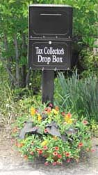 Tax Collectors Drop Box