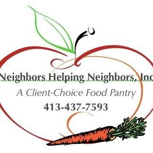 The NHN Food Pantry logo of an apple and carrot