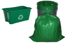 Green Bag and Bin