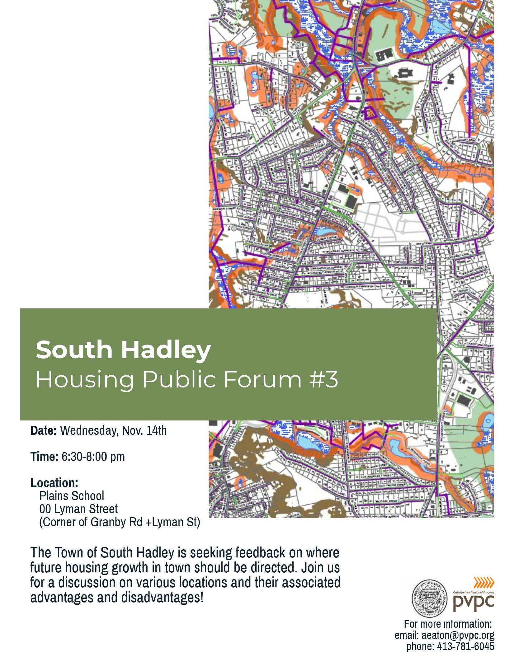 South Hadley Housing Public Forum 3